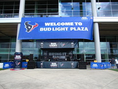 IMG_4875 (grooverman) Tags: houston texans nfl football game nrg stadium texas 2016 budweiser plaza canon powershot sx530
