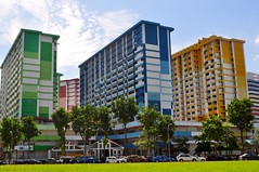 Goodbye Rocher 01 (fionatkinson) Tags: singapore asia rocher hdb flats urban demolishon old colour architecture landscape