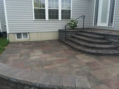 after (11) (The Sharper Cut Landscapes) Tags: belgardhardscapes backyard landscapedesign landscaping landscapecompany landscapelighting patio pavers plantings seatwall steps retainingwall thesharpercutlandscapes thesharpercut