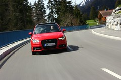 Audi A1 S-Line Roter Piranha misanorot fahrdynamisch (1) (H2O74) Tags: auto street red wallpaper black rot sports car speed dark rouge rojo automobile driving dynamic 14 evil fast s scene ps front voiture led kinetic bse coche carro modified a1 wallpapers tiefer audi tuning rood rosso scenes  coupe schwarz coup xenon piranha 2012 frhling 122 breiter oa roter fahrt allgu sportlich schnell automobil sline pkw  jger misano kfz voller kinetisch kraftfahrzeug tfsi 8x dynamisch tagfahrlicht fahraufnahme misanored misanorot panoramaglasdach fahrdynamisch
