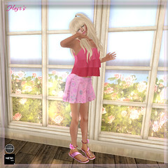 Hasi`s Mesh offer of the week (B&T Fashion Blv.) Tags: sl bt meshtop meshskirt meshstudio