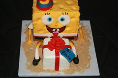 "Spongebob cake 3-D • <a style=""font-size:0.8em;"" href=""http://www.flickr.com/photos/60584691@N02/6988393698/"" target=""_blank"">View on Flickr</a>"
