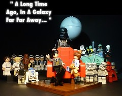 May The 4th Be With You (Legoagogo) Tags: england starwars lego stormtroopers r2d2 vader c3po chichester moc legoagogo