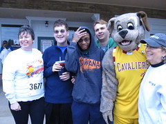 Beech Brook (7) (Moondog Mascot) Tags: 100k moondog cavaliers beechbrook 04222012 fleetfeetsports5k