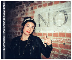 Carly Sioux, NO! (carly_sioux) Tags: film brooklyn photography streetphotography nightlife picturesofyou paparazza carlysioux