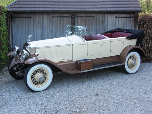 Rolls-Royce Phantom I Hooper Open Tourer (1926).