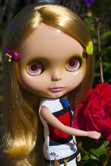 Mondie and Roses