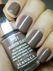 marron glacé, mavala (nails@mands) Tags: brown nagellack polish nails nailpolish unhas lacquer vernis esmalte smalto verniz marronglacé mavala
