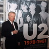 Patrick Brocklebank U2 Manager Paul McGuinness officially opened the photography exhibition U2:1978