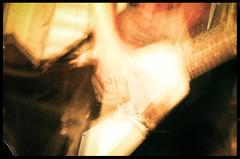 Noisy (Jeremy V.) Tags: longexposure music blur vintage movement guitar grain basement v noise jam