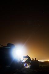 Feeding the Midnight Munchies (Zach Dischner) Tags: beach cooking night truck canon eos cool long exposure texas martin tx nighttime springbreak 7d pierce 4runner southpadreisland 2012 tamron1750 canon7d
