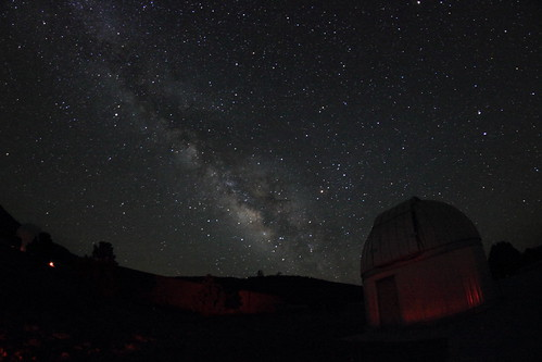 Milky Way from the McDonald Observatory