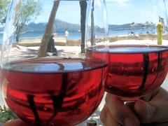 Life through rosé tinted glasses @ La Goleta, Port de Pollença, Mallorca (JoKenworthy71) Tags: rose spain mediterranean wine drink espana alcohol mallorca vino bebida balearicislands rosado portdepollença