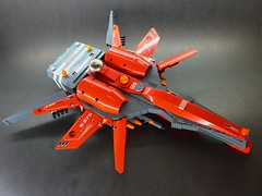 L1 - Commander (2) (SuperHardcoreDave) Tags: fighter lego tech future scifi spaceship weapons starship moc starfighter spacefighter