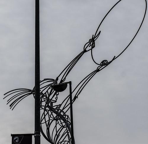 Belfast - Thanksgiving Sculpture By Andy Scott (Oxford Street)