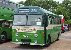 MOR 581 (PaulOfHorsham) Tags: green reliance aec aecreliance aldershotdistrict mor581 horshambusrunningday2012 hopoast