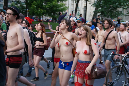 7352225902 0f63883fb1 Montreal Grand Prix met by Nude Protesters photo