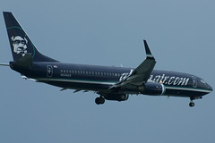 Alaska Airlines Boeing 737-800 N548AS (FlyingJ31) Tags: storm color colors rain boston alaska clouds plane dark airplane t photography photo lawrence airport paint chelsea aircraft sony air jet picture overcast stormy pic dot special edward international photograph airline com thunderstorm boeing logan alpha hybrid airlines inverted scheme raining bos airliner jetplane bayswater invert jetliner 737800 alaskaair a57 n548as kbos