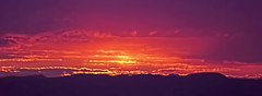 Heavens on Fire (David Alexander Elder) Tags: uk sunset nature beautiful rain fire twilight purple unitedkingdom dusk awesome scozia skotland    skotsko   kotska kotija  escocia