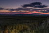 After sunset looking towards Wiltshire (Si Photography) Tags: sunset red sky cloud sun colour tree nature beautiful field set night canon interesting exposure 350 400 poppy poppies after 500 450 poppie 550 600d 650d