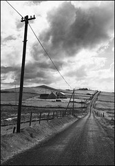 Road to St.John's Point (Werner Koenig) Tags: ireland blackandwhite bw blackwhite nikon baw codonegal d90 nikond90 flickricious365 nikond90bw
