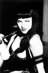 Eva Herzigova as Betty Page (selmatenkmann) Tags: ellen eva von betty page herzigova unwerth