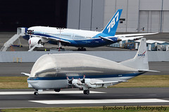 Blast from the Past (Brandon Farris Photography) Tags: new old space alien super nasa airbus boeing guppy 787 788 n941na spaceshittle n787bx brandonfarris seahawks7757 photoreconnet brandonsblog