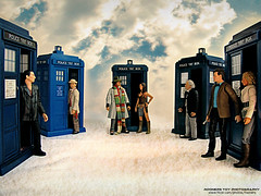 Doctors Assemble (Rooners Toy Photography) Tags: who doctorwho bbc scifi sciencefiction tardis leela tombaker thedoctor alexkingston timelord mattsmith sylvestermccoy christophereccleston williamhartnell 4thdoctor 1stdoctor 9thdoctor louisejameson 7thdoctor characteroptions 11thdoctor rooners