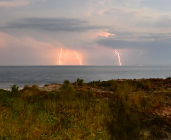 July 1, 2012 (Joe Raffa) Tags: ocean storm beach island long lbi lightning