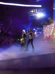 (leftofthemiddle) Tags: sports women live entrance event entertainment wwe divas smackdown katielea maryse wwedivas maryseouellet aliciafox