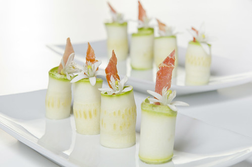 Abobrinha / Parma Crocante / Flor de Laranjeira