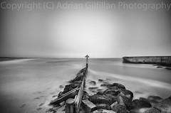 Seaton Sluice black and white (Gilfillan Photography) Tags: longexposure water seatonsluice