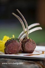 Rack of lamb.Boar's Head Inn (Remsberg Photos) Tags: food usa virginia sheep meals meat ag lamb charlottesville agriculture livestock plenty abundance entree maincourse agriculturethings