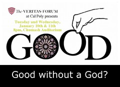 Cal Poly SLO (The Veritas Forum) Tags: debate dialogue apologetics veritasforum bigquestions lifeshardestquestions