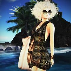 Seaside days (Bea Serendipity / Ghee) Tags: chemistry lelutka teefy mg maxi gossamer lushlimited maitreya miel handverk fashion style sl secondlife model avatar