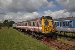 308 136  Coventry 2012-07-21 (Amys-pics) Tags: electric museum dc rail railway southern emu coventry ac overhead 3rd sera 308 bagington 25kv