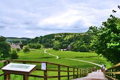 Bolton Abbey (Ziyad alolayan) Tags: green nature abbey stairs long path hills bolton       mygearandme