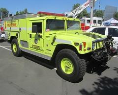 Hummer - Fire Rescue - Ontario Airport, California (MR38) Tags: rescue ontario fire airport hummer