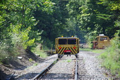 IMGP6412 (geepstir) Tags: car reading pennsylvania rail pa shamokin speeder sunbury narcoa