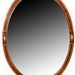 115. Inlaid Oval Mirror