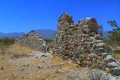Another stone in the wall (EF661AV) Tags: california ca urban abandoned rio stone wall del decay forgotten 7d cannon lancaster antelopevalley palmdale ferrell llano ruines ef661av