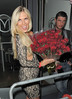 Frankie Essex outside Funky Buddha nightclub. London, England