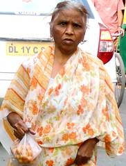 Paharganj shopper (bokage) Tags: woman india market delhi shopper paharganj