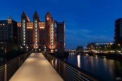 Internationales Maritimes Museum Hamburg (stein.anthony) Tags: cityscape city speicherstadt hafencity hamburg blauestunde langzeitbelichtung longexposure nachtaufnahme