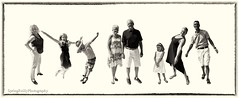 Vogel Family Collage (SpringTrippReilly-Life's Elements Photography) Tags: family lifeselementsphotography portrait portraits wwwspringreillycom black white collage kids parents grandparents children men women boy girls