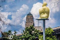 Puff (JohnBorsaPhoto) Tags: new york old city tower art water river harbor canal hall buffalo waterfront outdoor landmark inner corporation western erie deco development canalside echdc