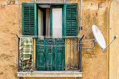 Cefalu (Explore) (Kevin R Thornton) Tags: d90 balcony travel facade cefalu city architecture 2016 italy sicily nikon cefal sicilia it