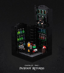 Harry Potter and the Goblet of Fire 21 (Xenomurphy) Tags: lego moc bricks harrypotter gobletoffire rowling muggle magic weasley hermione malfoy voldemort hogwarts hogsmeade slytherin hufflepuff gryffindor ravenclaw quidditch