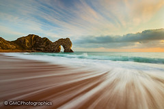 Dynamic of Durdle Door (3 of 3) (GMC Photographics) Tags: copyrightgmcphotographics gmcphotographics gazzajagman canon 5diii 1635iil dorset durdle door uk landscape waterscape coastal
