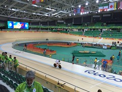first shift in the velodrome